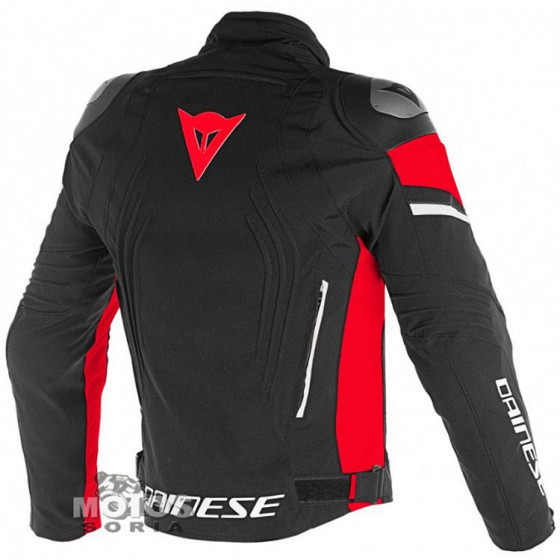 CHAQUETA DAINESE RACING 3 D-DRY  BLACK/RED