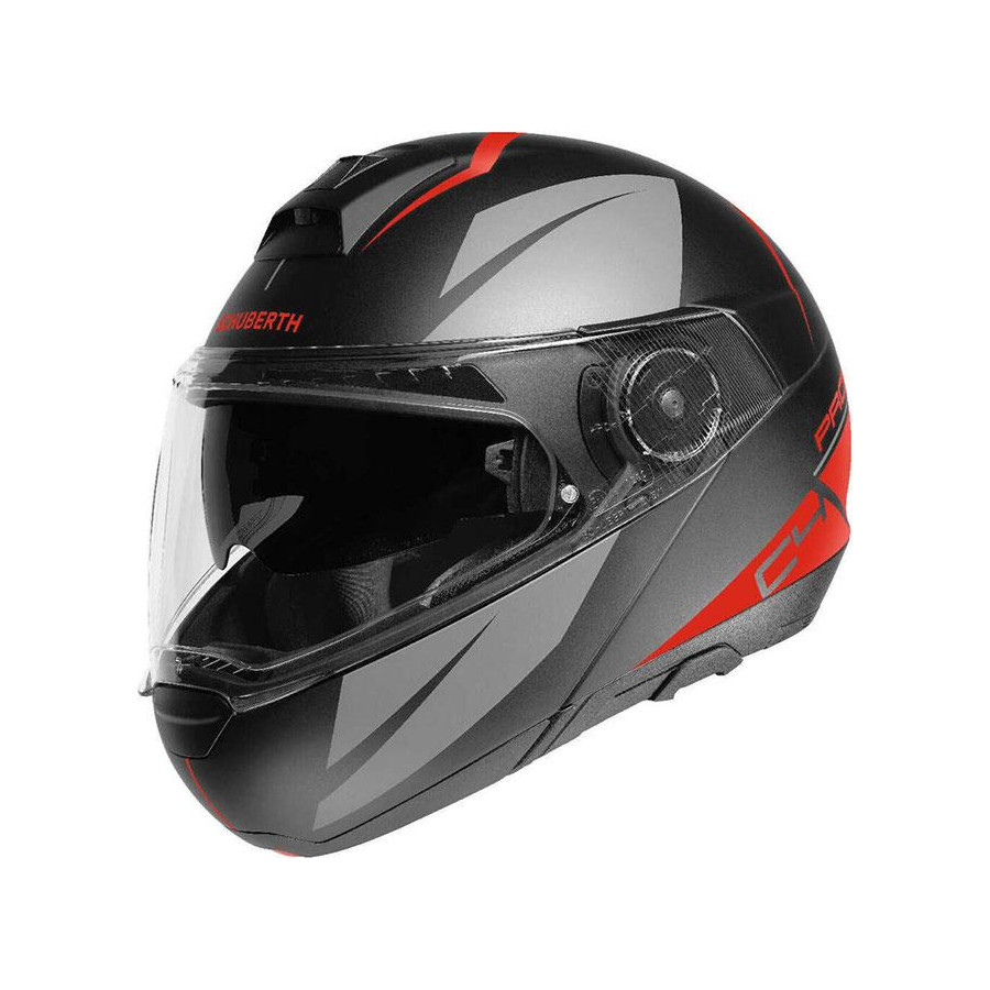 CASCO SCHUBERTH C4 PRO MERAK RED