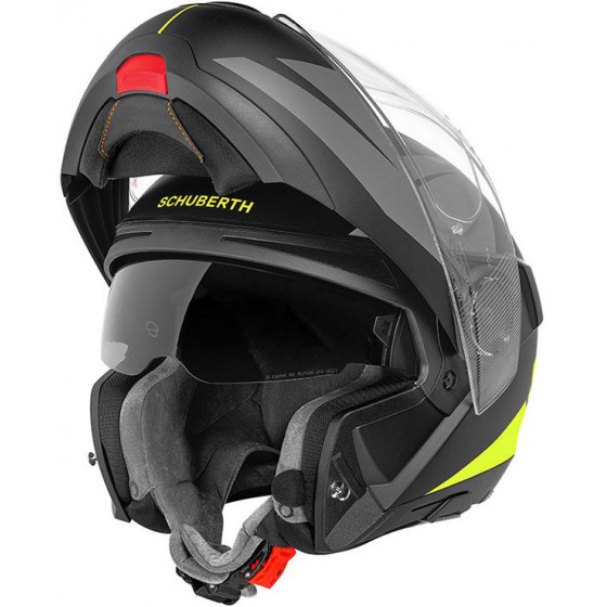 CASCO SCHUBERTH C4 PRO MERAK YELLOW