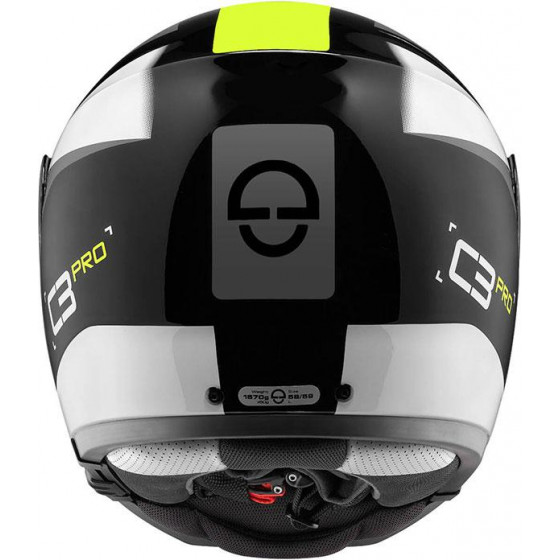 CASCO SCHUBERTH C3 PRO SESTANTE YELLOW