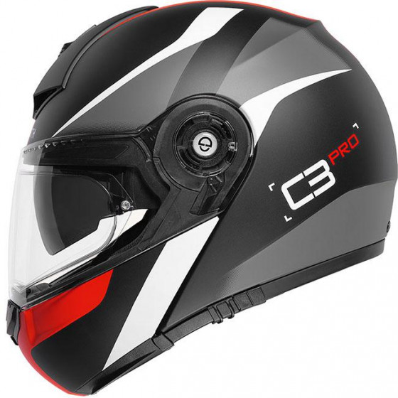 CASCO SCHUBERTH C3 PRO SESTANTE RED