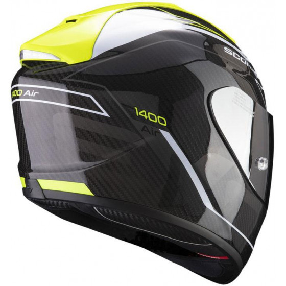 CASCO SCORPION EXO-1400 AIR CARBON BEAUX YELLOW