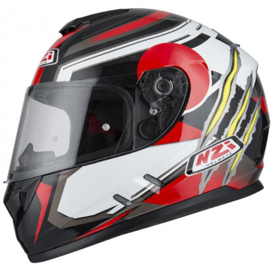 CASCO NZI FUSION GARRAS ANTRACITE&WHITE&RED