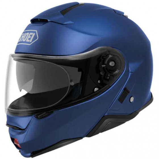 CASCO SHOEI NEOTEC 2 SOLID MATT BLUE