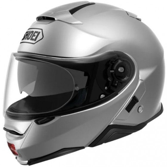 CASCO SHOEI NEOTEC 2 SOLID LIGHT SILVER