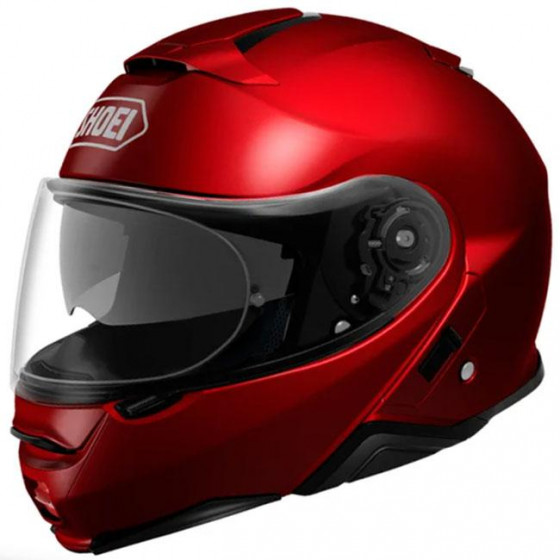 CASCO SHOEI NEOTEC 2 SOLID BURDEOS