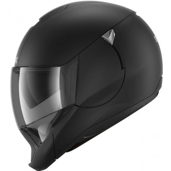 CASCO SHARK EVOJET BLANK MAT Black Mat