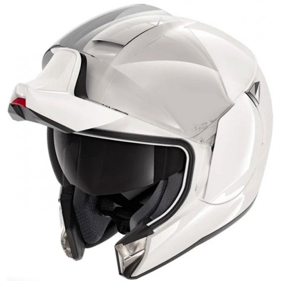 CASCO SHARK EVOJET BLANK WHITE