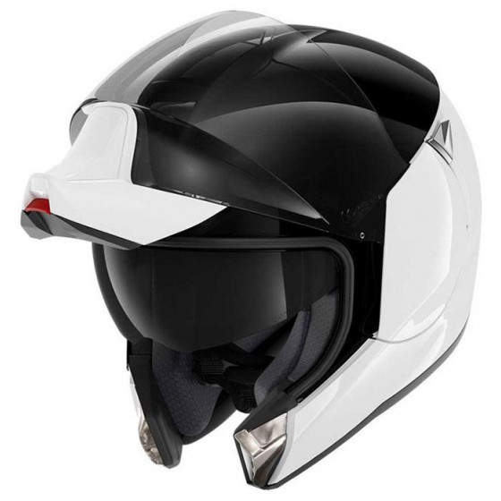 CASCO SHARK EVOJET DUAL BLANK WHITE/BLACK