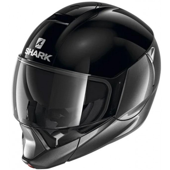 CASCO SHARK EVOJET DUAL BLANK BLACK/ANTHRACITE
