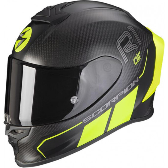 CASCO SCORPION EXO-R1 CARBON AIR CORPUS II YELLOW