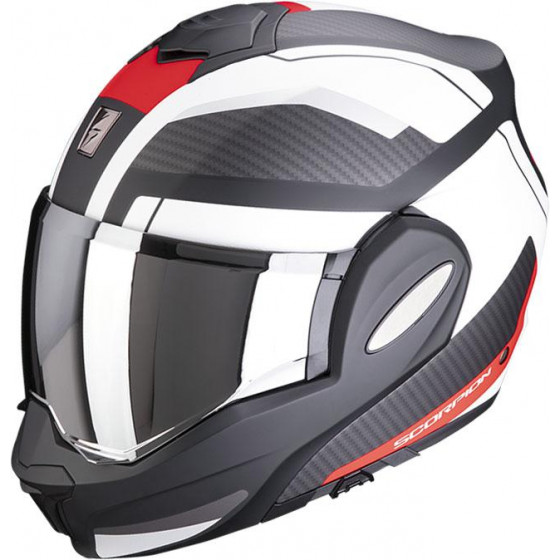 CASCO SCORPION EXO-TECH TRAP RED/WHITE