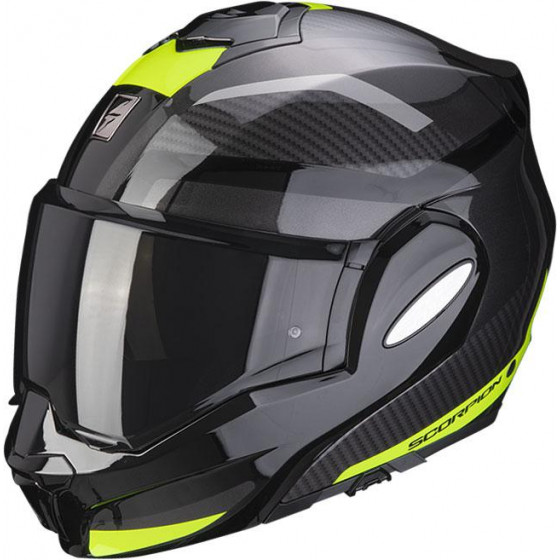 CASCO SCORPION EXO-TECH TRAP BLACK/YELLOW