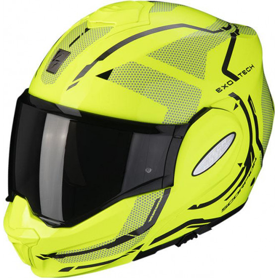 CASCO SCORPION EXO-TECH SQUARE YELLOW