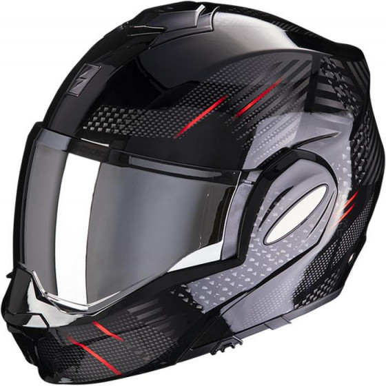 CASCO SCORPION EXO-TECH PULSE BLACK/RED