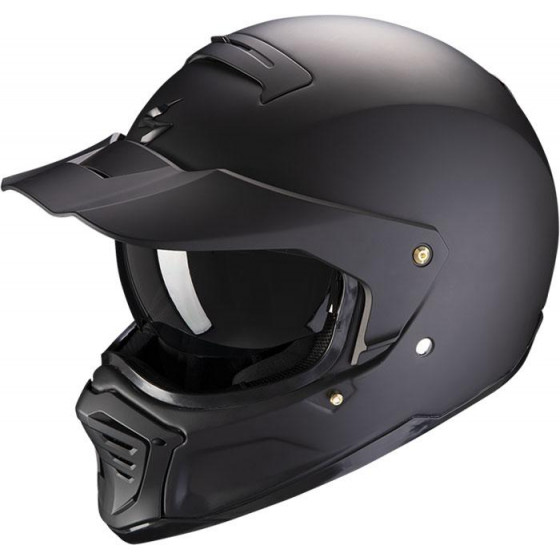 CASCO SCORPION EXO-HX1 SOLID MATT BLACK
