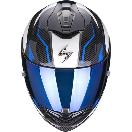 CASCO SCORPION EXO-1400 AIR FORTUNA WHITE/BLUE
