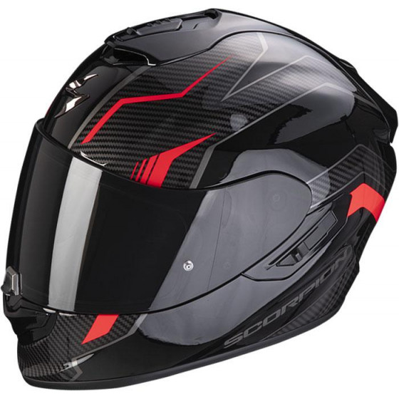 CASCO SCORPION EXO-1400 AIR FORTUNA BLACK/RED