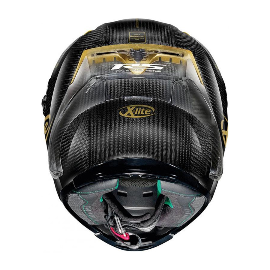 Casco SCORPION EXO-1400 AIR CARBON Beaux Amarillo