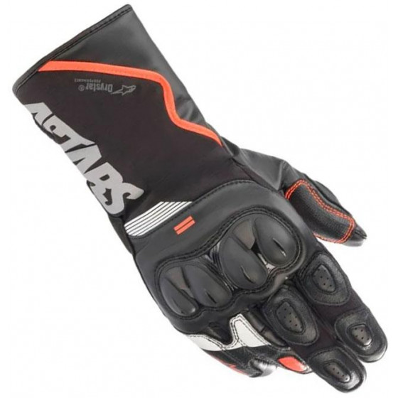 GUANTES ALPINESTARS SP-365 DRYSTAR BLACK/RED