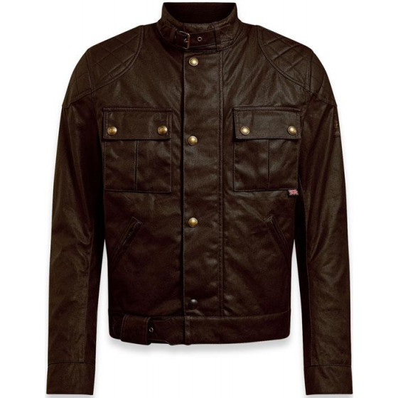 CHAQUETA BELSTAFF BROOKLANDS 2.0 BROWN