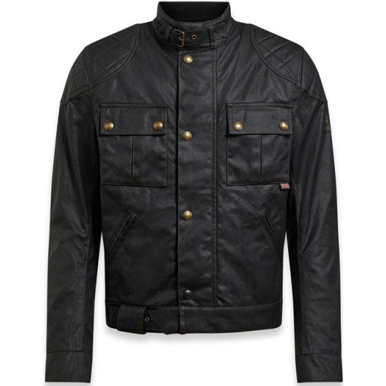 CHAQUETA BELSTAFF BROOKLANDS 2.0 BLACK