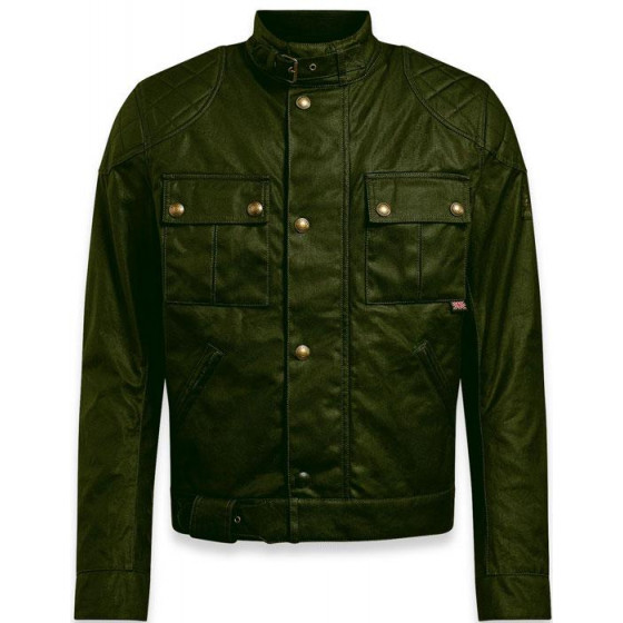 CHAQUETA BELSTAFF BROOKLANDS 2.0 GREEN