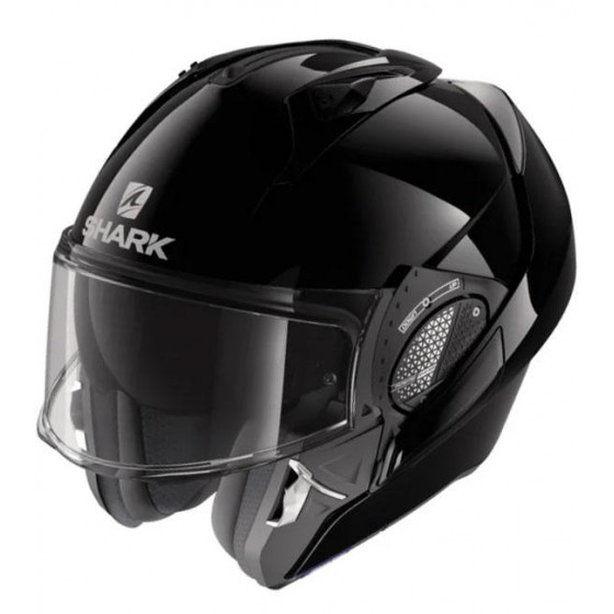 CASCO SHARK EVO-GT BLANK BLACK BLK