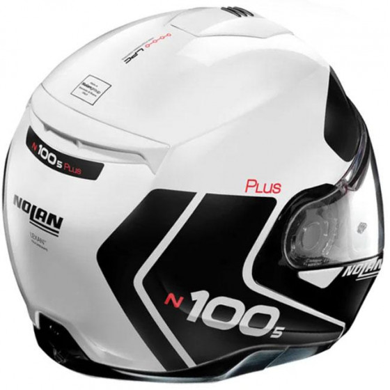 CASCO NOLAN N100.5 PLUS DISTINCTIVE N-COM WHITE 22