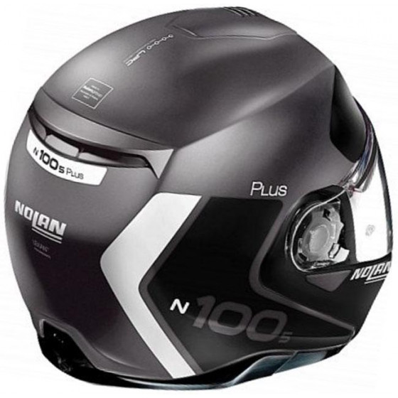 CASCO NOLAN N100.5 PLUS DISTINCTIVE N-COM GR/BL 23