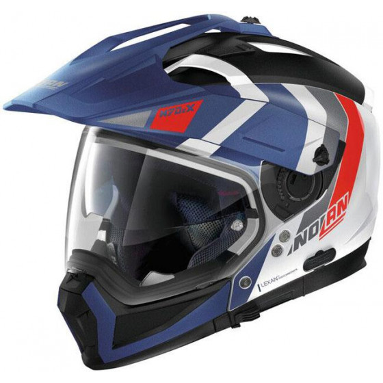 CASCO NOLAN N70-2 X DECURIO BLUE/RED 33