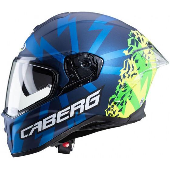 CASCO CABERG DRIFT EVO STORM BLUE/YELLOW