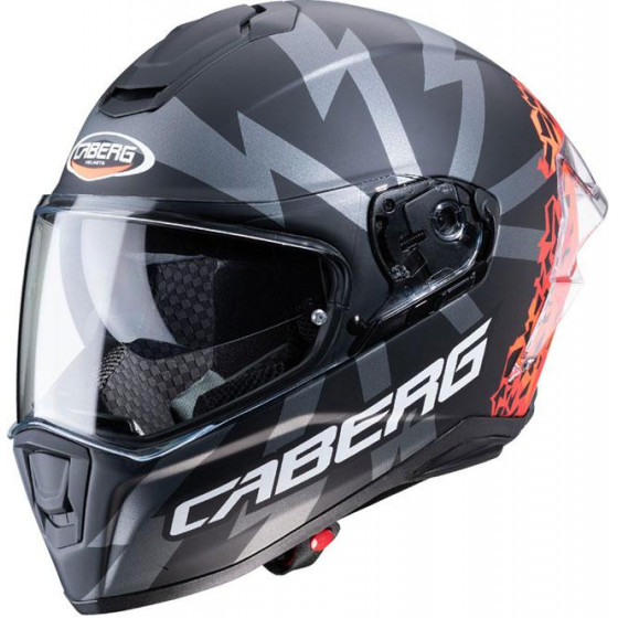 Casco CABERG DUKE ll LEGEND Rojo