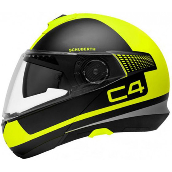 CASCO SCHUBERTH C4 LEGACY BLACK/YELLOW