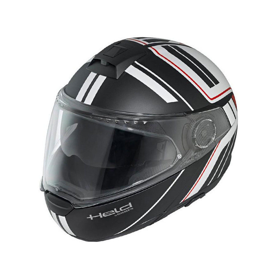 CASCO HELD H-C4 TOUR BLACK/WHITE