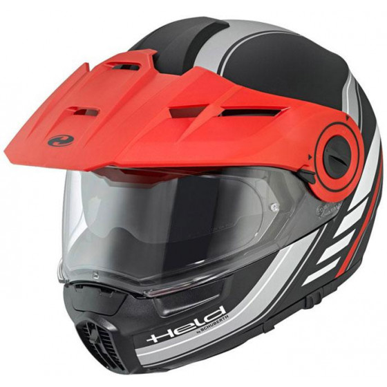 CASCO HELD H-E1 ADVENTURE RED/GREY