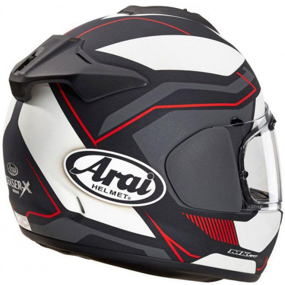 CASCO ARAI CHASER-X SENSATION RED MATT