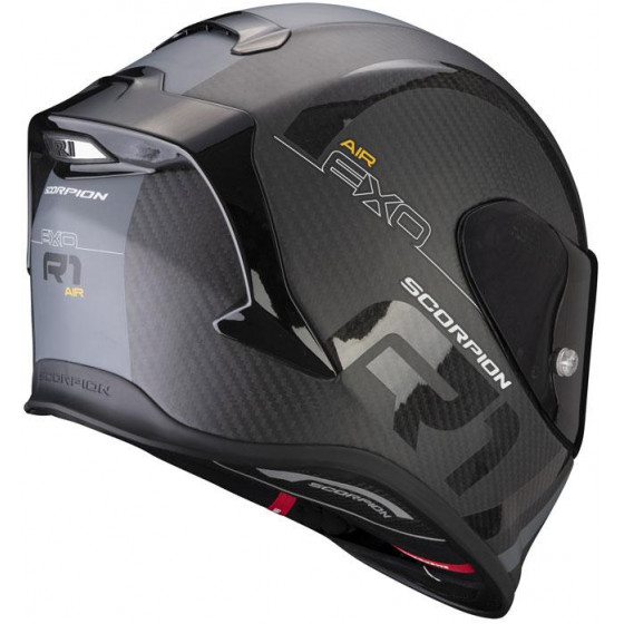 CASCO SCORPION EXO-R1 CARBON AIR MG BLACK / SILVER