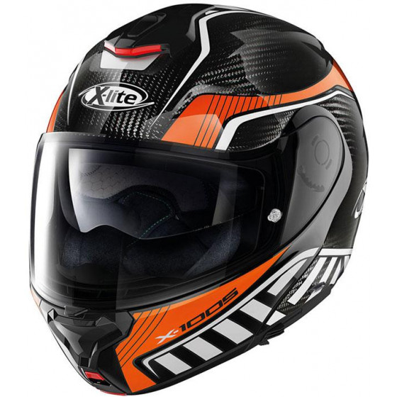 CASCO X-LITE X-1005 U.C. CHEYENNE BLACK/ORANGE 13
