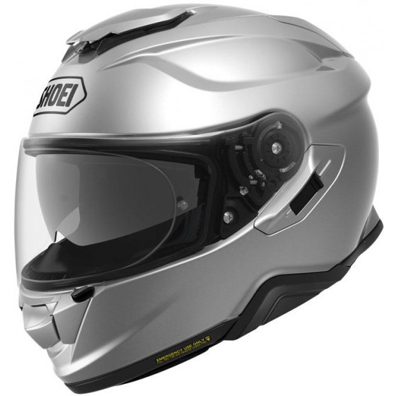 CASCO SHOEI GT-AIR 2 SOLID LIGHT SILVER