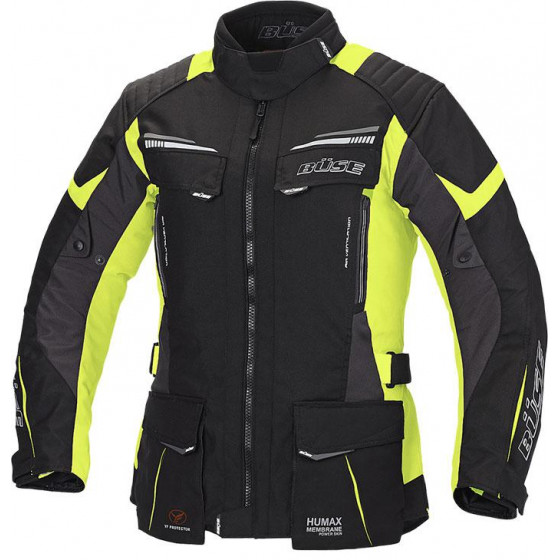 CHAQUETA BUSE LAGO PRO WOMAN BLACK / YELLOW