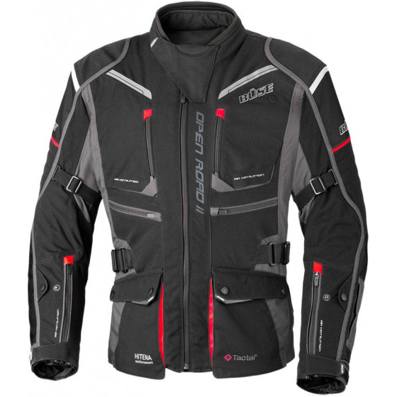 CHAQUETA BUSE OPEN ROAD II BLACK