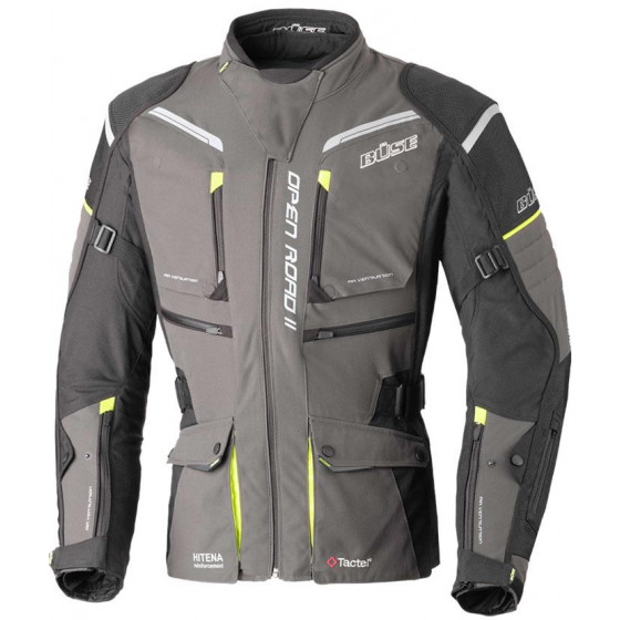 CHAQUETA BUSE OPEN ROAD II ANTHRACITE