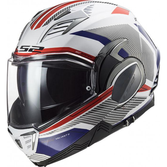 CASCO LS2 FF900 VALIANT II REVO BLUE RED