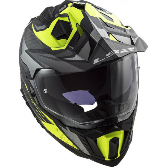 CASCO LS2 MX701 EXPLORER C FOCUS H-V YELLOW