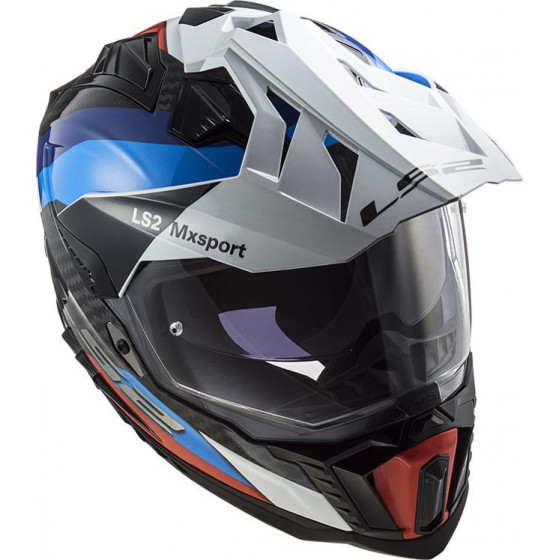 CASCO LS2 MX701 EXPLORER C FRONTIER BLUE / RED