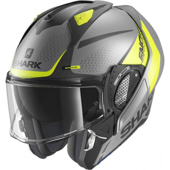 CASCO SHARK EVO-GT ENCKE ANTHRACITE / YELLOW AYK