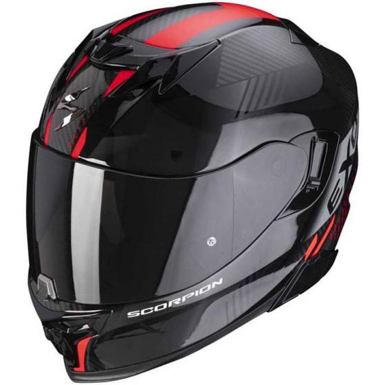 CASCO SCORPION EXO-520 AIR LATEN BLACK / RED