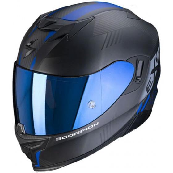 CASCO SCORPION EXO-520 AIR LATEN MATT BLACK / BLUE