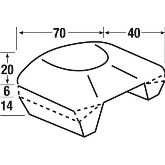 Casco SCORPION EXO-1400 AIR CUP Rosa